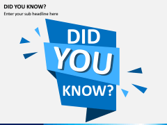 Did You Know PPT Slide 3