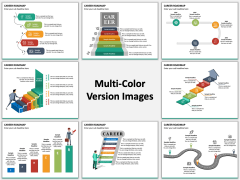 Career Roadmap Multicolor Combined