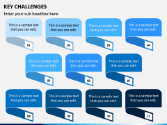 Key Challenges PPT Slide 10