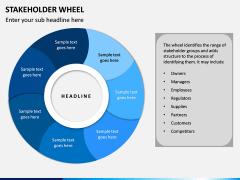 Stakeholder Wheel PPT Slide 4
