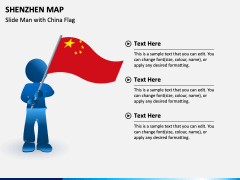 Shenzhen Map PPT Slide 5