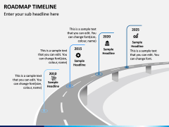 Roadmap Timeline PPT Slide 1