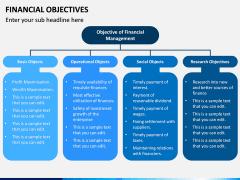 Financial Objectives PPT Slide 4