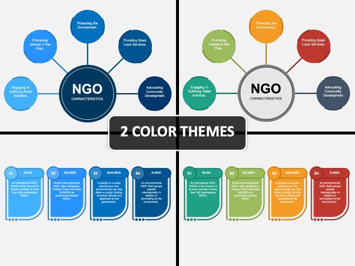 NGO PPT Cover Slide