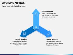 Diverging Arrows PPT Slide 12