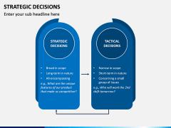 Strategic Decisions PPT Slide 8