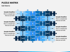 Puzzle Matrix PPT Slide 11