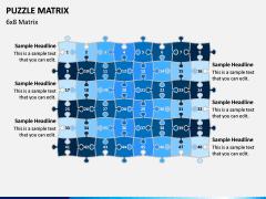 Puzzle Matrix PPT Slide 11