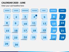 Calendar 2020 PPT Slide 6