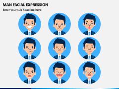 Man Facial Expression PPT Slide 7