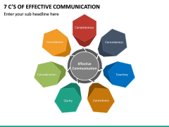7 C's of Effective Communication PPT Slide 2