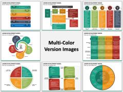 Career Development Model Multicolor Combined