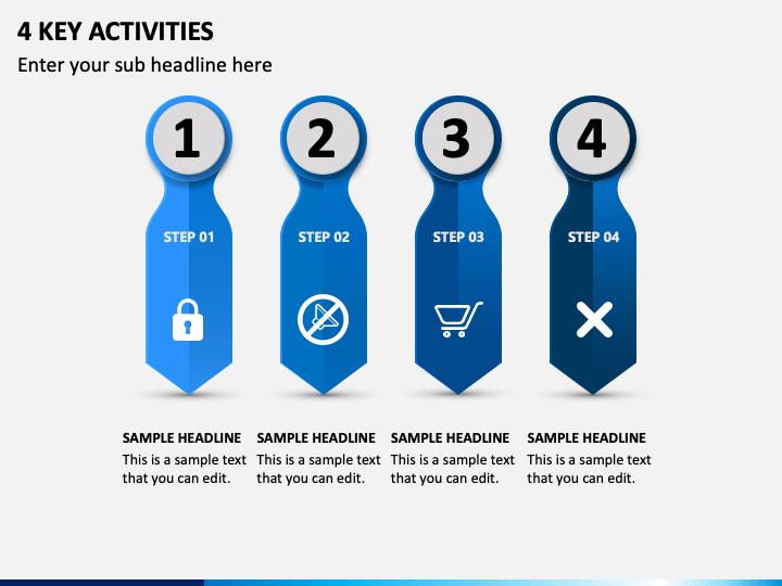 4 Key Activities PPT Slide 1
