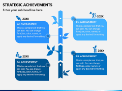 Strategic Achievements PPT Slide 8