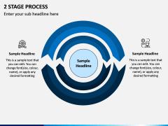 2 Stage Process PPT Slide 1