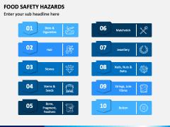Food Safety Hazards PPT Slide 3