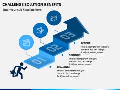 Challenge Solution Benefits PPT Slide 1