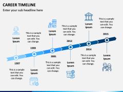 Career Timeline PPT Slide 3