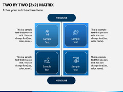 Two By Two (2x2) Matrix PPT Slide 4