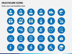 Healthcare Icons PPT Slide 1