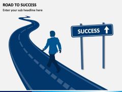 Road To Success PPT Slide 1