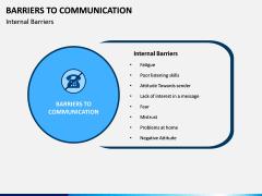 Communication Barriers PPT Slide 5