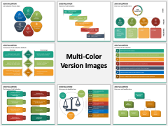 Job Evaluation Multicolor Combined