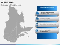 Quebec Map PPT Slide 3