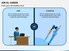 Job Vs Career PPT Slide 1