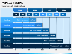 Parallel Timeline PPT Slide 2