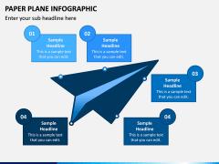 Paper Plane Infographic PPT Slide 3