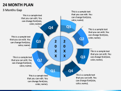24 Month Plan PPT Slide 1