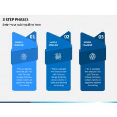 3 Step Phases PPT Slide 1