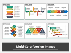 Strategy Timeline Multicolor Combined