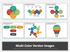 IT Infrastructure Strategy Multicolor Combined
