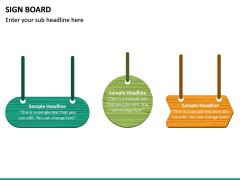 Sign Board PPT Slide 21