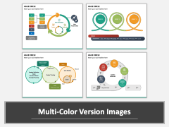 Agile Circle PPT Multicolor Combined