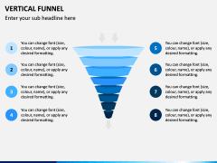 Vertical Funnel PPT Slide 17