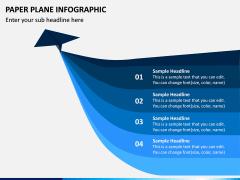 Paper Plane Infographic PPT Slide 6