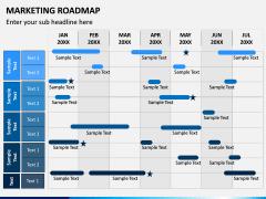 Marketing Roadmap PPT Slide 1