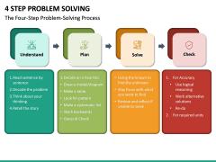 4 Step Problem Solving PPT Slide 5