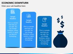 Economic Downturn PPT Slide 3