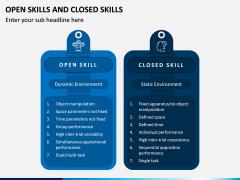 Open Skills and Closed Skills PPT Slide 3