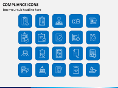 Compliance Icons PPT Slide 1