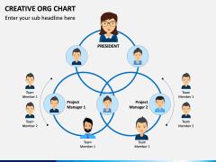Creative Organizational Chart PPT Slide 14