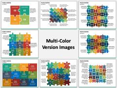 Puzzle Matrix Multicolor Combined