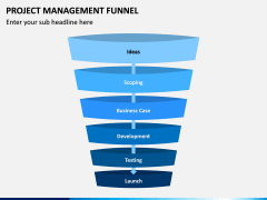 Project Management Funnel PPT Slide 8
