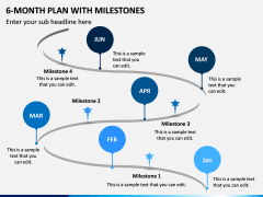 6 Month Plan With Milestones PPT Slide 5