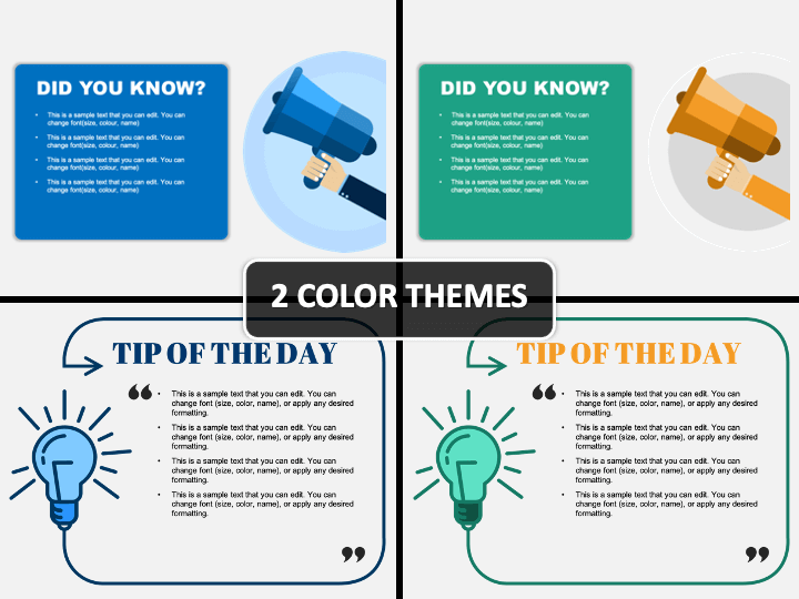 Tip of The Day PPT Cover Slide