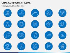 Goal Achievement Icons PPT Slide 3